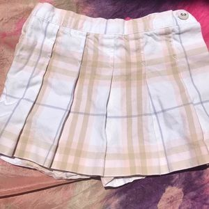 Burberry Toddler Skort -used Sz2